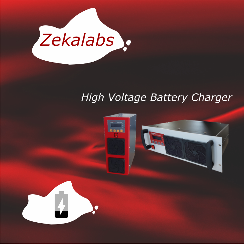 High voltage battery charger