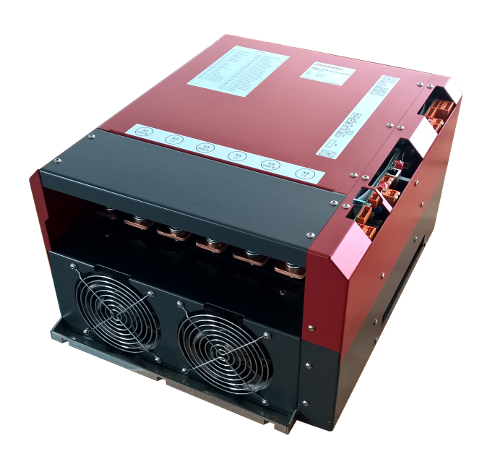 High-power high-voltage 200kW 10V to 1200V 250A bi-directional air-cooled DC/DC converter RedPrime from Zekalabs