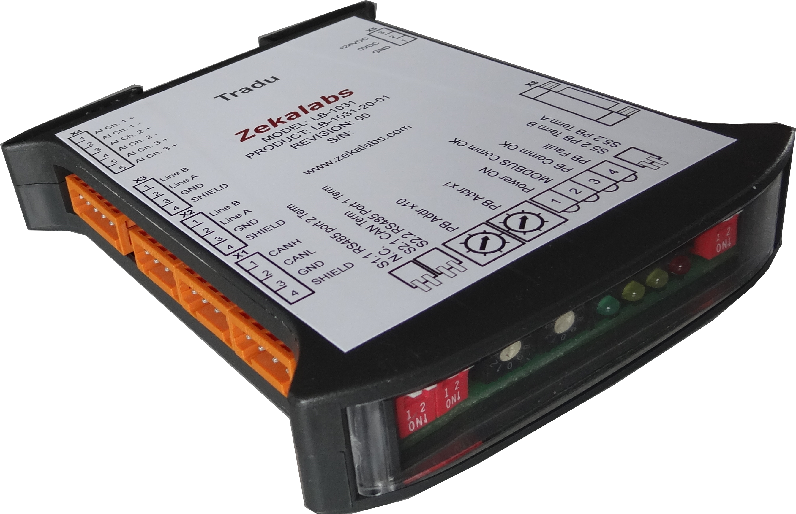 Modbus to Profibus Converter from Zekalabs