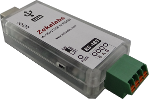 USB-RS485 Converter from Zekalabs