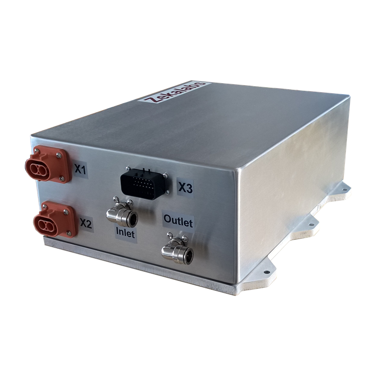 Isolated 15kW 450V DC-DC converter battery charger with CAN control from Zekalab